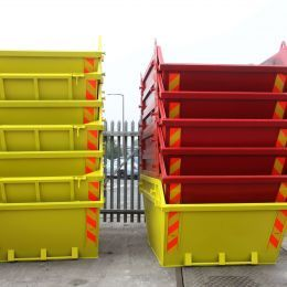 Skips at our hire centre