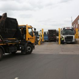 Our Rotherham skip hire centre
