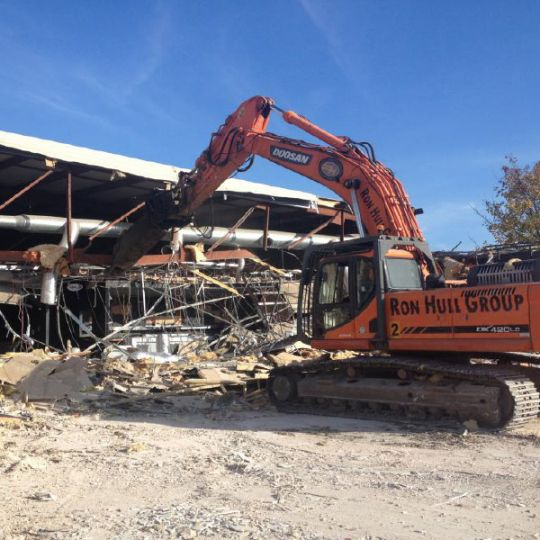 Facility being decomission and demolished by Ron Hull