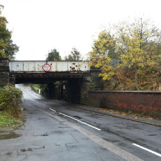 Bridge previously demolished by Ron Hull Ltd